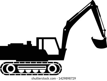 excavator silhouettes project 260nw