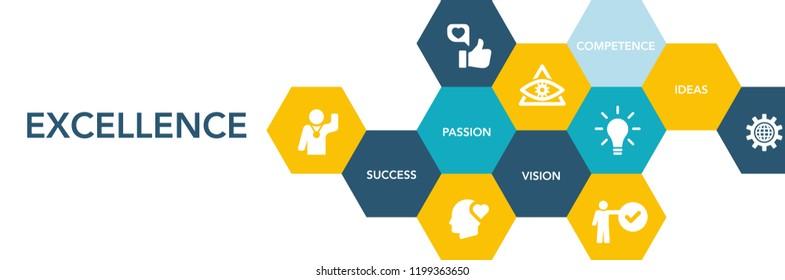 Excellence Icon Concept