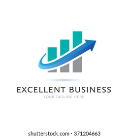 Excellent Business Logo Icon Elements Template