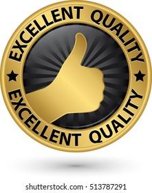 f69808fa893 Premium Quality Guaranteed Golden Label Vector Stock Vector (Royalty ...