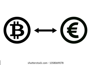 Exchange bitcon for euro and vice versa