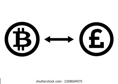 Exchange bitcon for pound sterling and vice versa