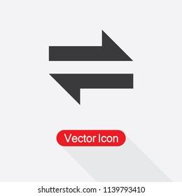 Exchange Icon Vector Illustration Eps10