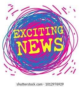 Exciting News Images, Stock Photos & Vectors | Shutterstock