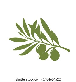 Exclusive Logo NATURE OLIVE for your brand, very clean vector silhouette