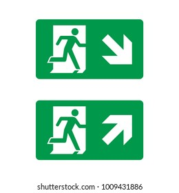 Exit Icon Vector. road sign. web design icon template.