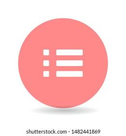 expand menu Vector icon . Lorem Ipsum Illustration design