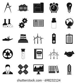 Expenses icons set. Simple set of 25 expenses vector icons for web isolated on white background