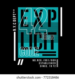 explicit typography tee graphic design, vector illustration element artistic stock image