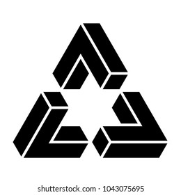 Exploded Penrose triangle