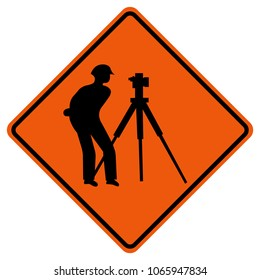 Exploring Way Traffic Road Sign,Vector Illustration, Isolate On White Background Icon. EPS10