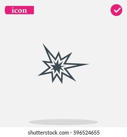 Explosion icon.