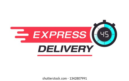 EXPRESS DELIVERY BANNER CONCEPT