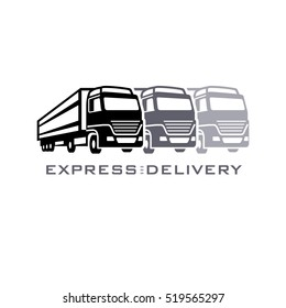 Express delivery company symbol