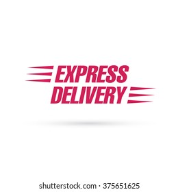 express delivery lettering
