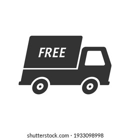 express delivery trucks icon. vector illustration.