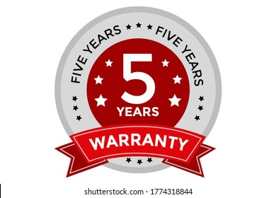 Extended warranty graphy Home warranty, Warranty, label, logo vector