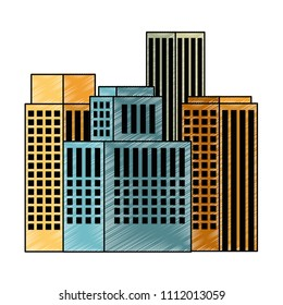 exterior buildings cityscape icon