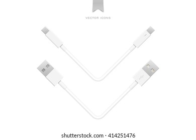 external peripherals interface cables isolated on white background. vector PCI Express, Display Port. computer peripheral or monitor high speed connector supply. universal serial bus and thunderbolt