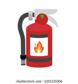 Extinguisher emoji fire vector