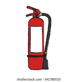 Extinguisher of industrial security design