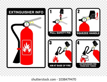 Fire Extinguisher Symbol Images, Stock Photos & Vectors