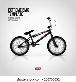 Extreme BMX template