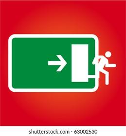 Extreme exit illustration