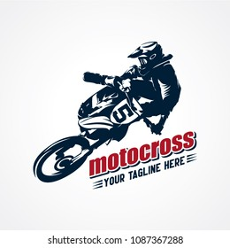 Extreme Motocross Logo Designs Template