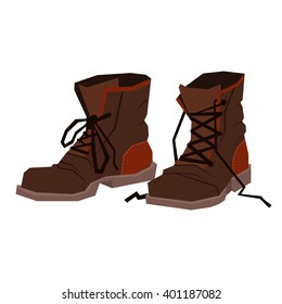 extreme shoes. old reliable sturdy hiking boots.