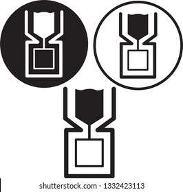 Extrusion manufacturing process with extruder icon