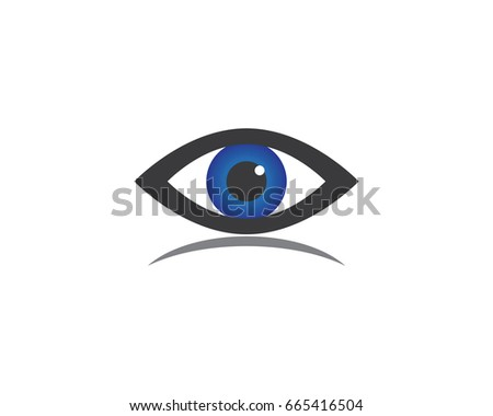 eye care logo template stock vector royalty free 665416504