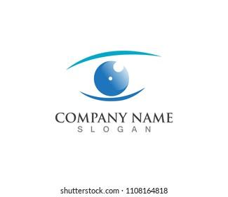 Eye Care Logo Tomplate