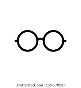 Eye Glasses Icon Vector