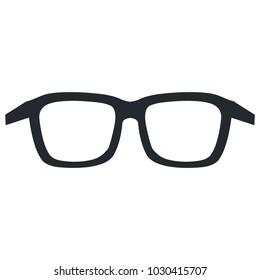eye glasses isolated icon