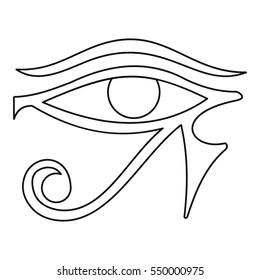 Eye of Horus Images, Stock Photos & Vectors   Shutterstock