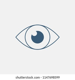 Eye icon. Line vector icon.