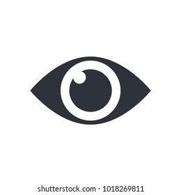 eye icon. look and see icon vector