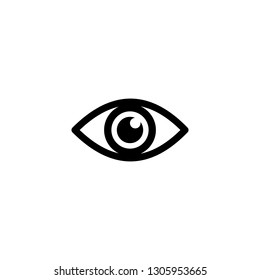 Eye icon. Look and Vision icon. Eye vector icon