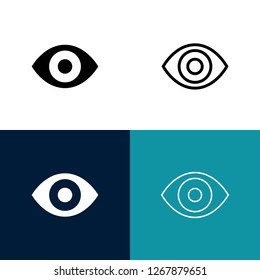 Eye Icon Set