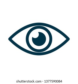 Eye icon sign – for stock