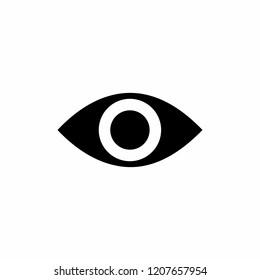 eye icon symbol vector
