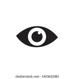 eye icon symbol vector illustration