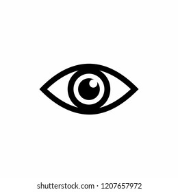 eye icon symbol vector. Mail Icon Symbols vector. symbol for web site Computer and mobile vector.