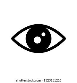 eye icon. eye symbols for web design.