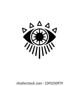 Eye Icon ,Tattoo style design