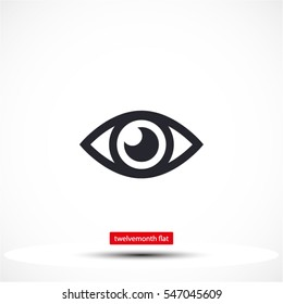 Eye icon. Vector