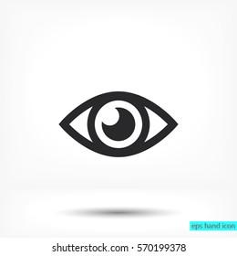 Eye icon. Vector