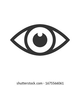 Eye Icon Vector Design Template