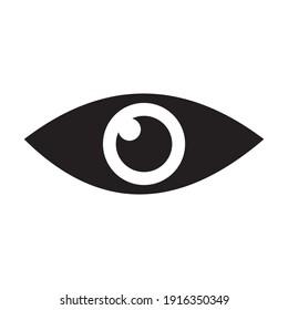 eye icon vector illustration sign